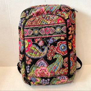 Vera Bradley Symphony in Hue laptop backpack